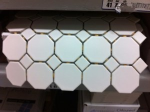 octagonal tile at Lowe's