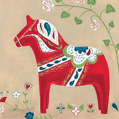 Swedish Dala Horse - Something to Cherish
