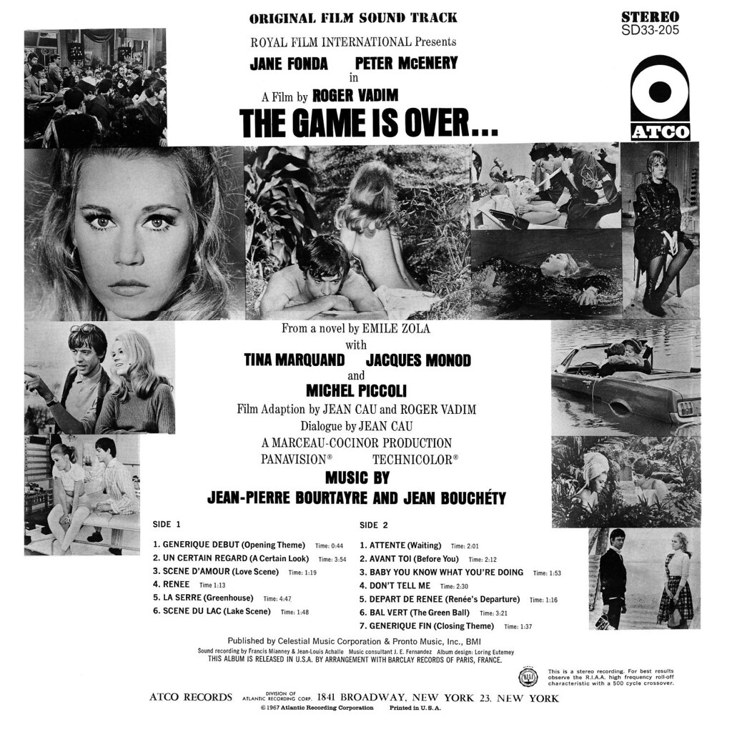 Jean-Pierre Bourtayre - The Game is Over