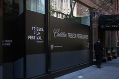Tribeca Film Festival press lounge