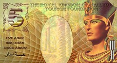 Ancient Egyptian Fantasy Banknote Obverse