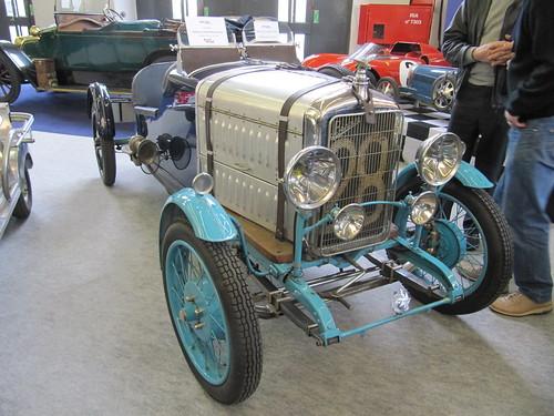 20110204 Paris Rétromobile - BENOVA B3 BIPLACE SPORT -(1928)