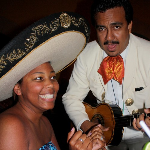 Meanwhile, Mariachi Man by Dara was loving his night.