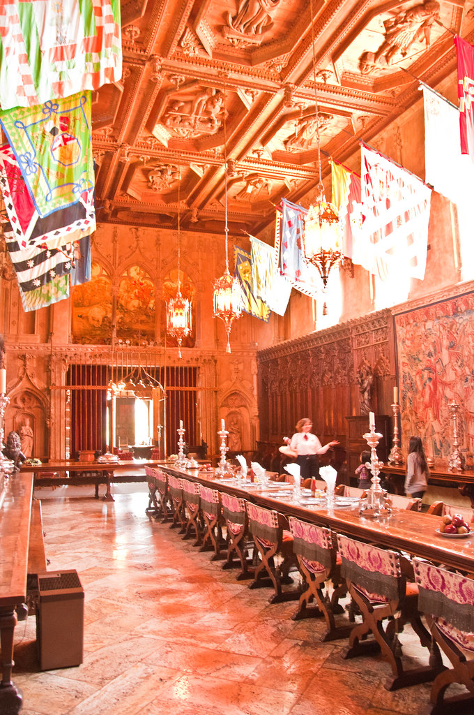The Dining Room, Hearst Castle