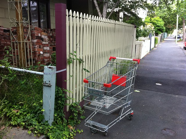 Collingwood - Hotham st - Piedemontes trolley