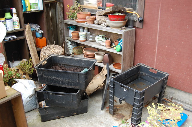 Overview of the worm bin