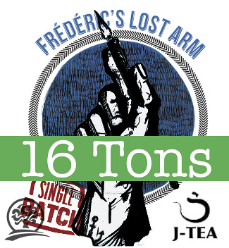 Frederic's Lost Arm - special birthday beer from 16 Tons, Oakshire Brewing and J-Tea