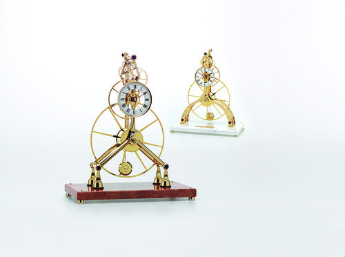 Great Wheel Skeleton Clocks
