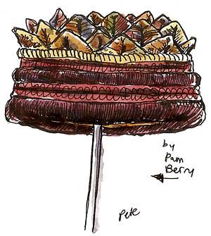 pam berry: fiber hat