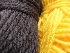 Yarn for Dwarf Sunspot Sunflower