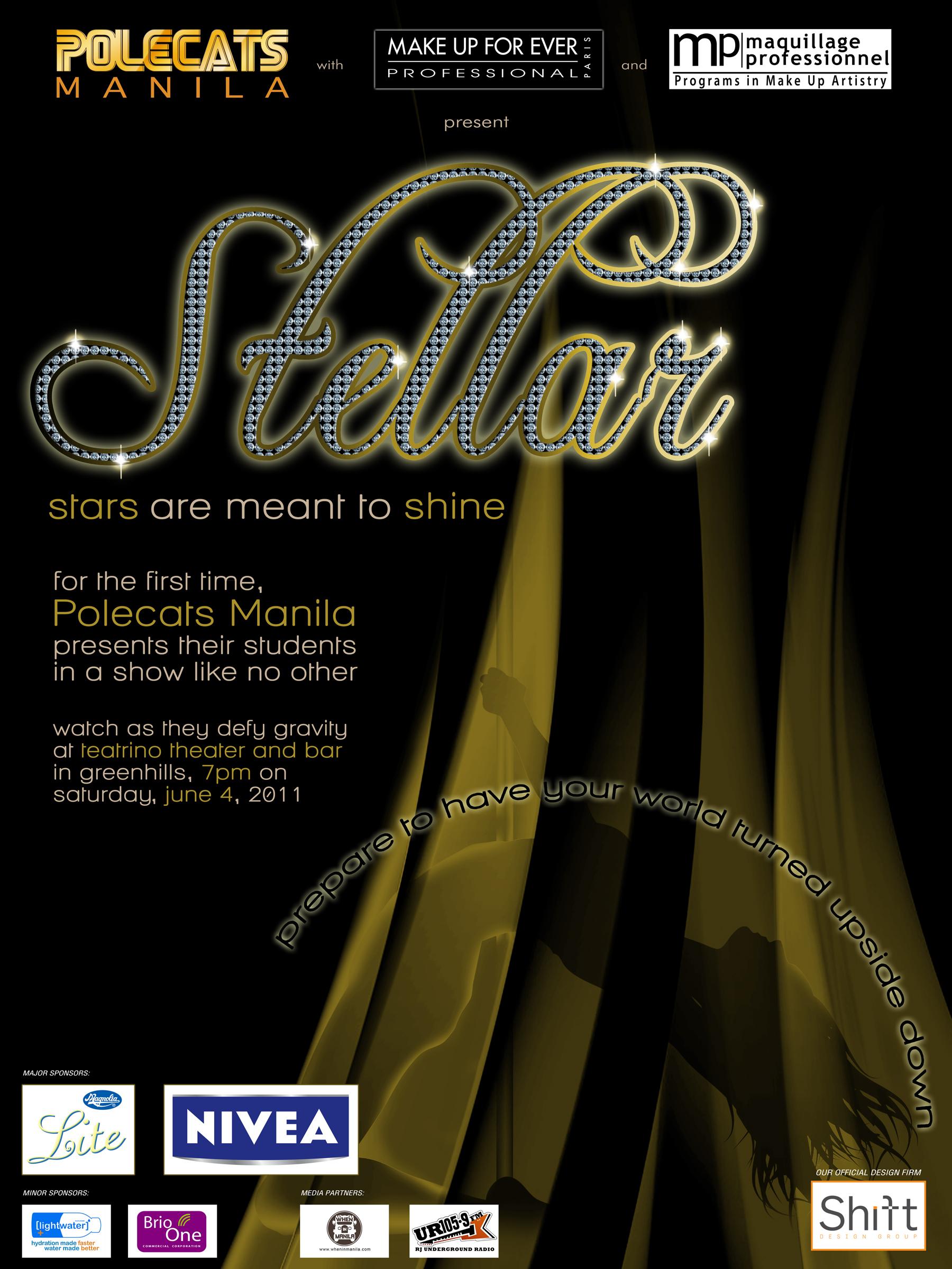 polecats - stellar - poster - final