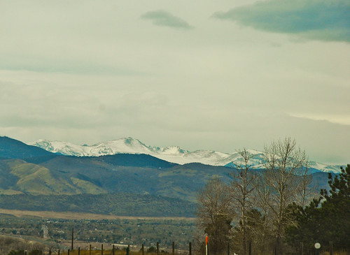 Snow-Capped Colorado Rocky Mountains