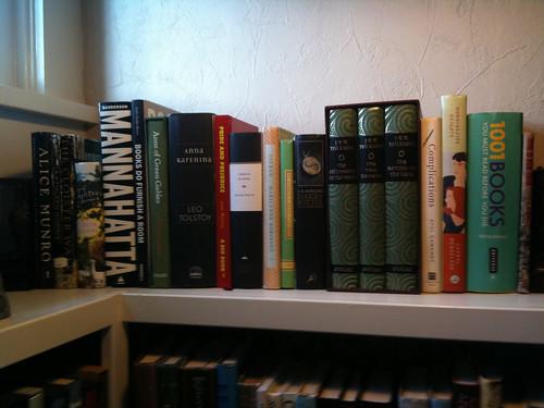 april bookshelf