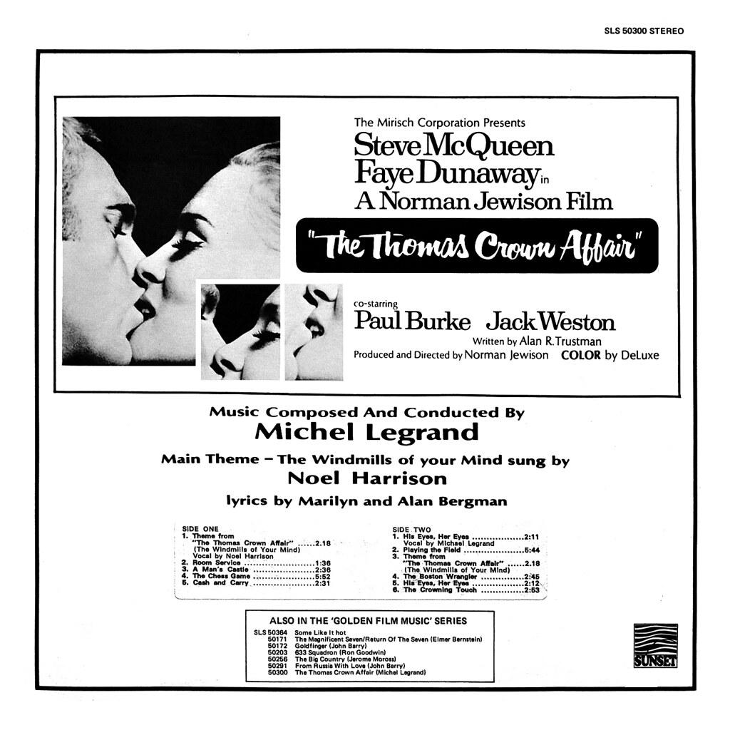 Michel Legrand - The Thomas Crown Affair