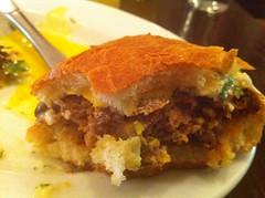Chorizo Sandwich, Interior View