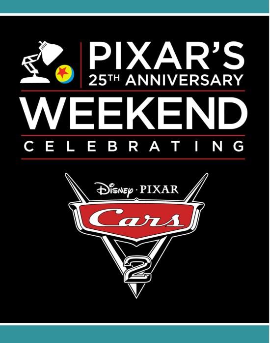Pixar's 25th Anniversary Weekend May 13-15 at Epcot