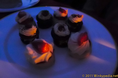 The Cake Array (Calloo Callay)- A trio of Frank Dale Cakes, Dining with Alice