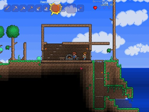 Terraria - The Start of my Home