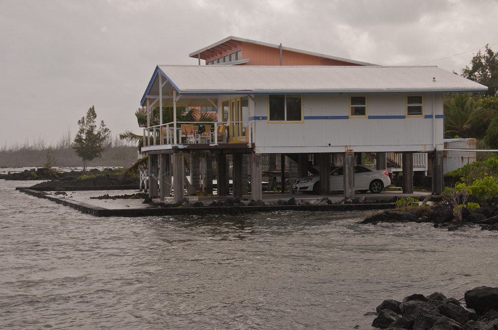 Our house at high tide