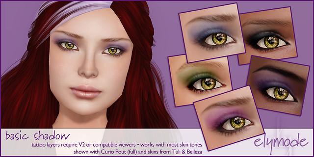 elymode basic eye-shadows