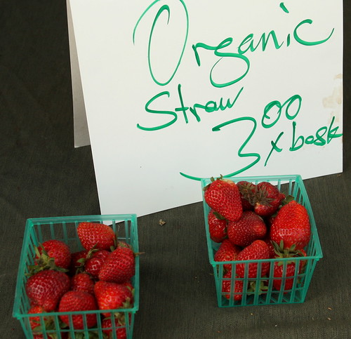 Spring Strawberries! Yum!