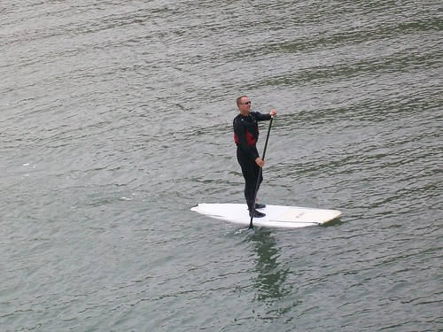 Paddle surfer!