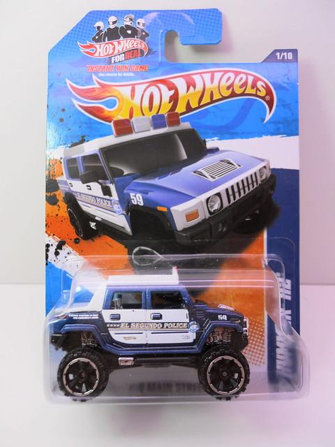 hot wheels hummer h2 police blue (1)