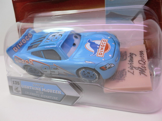 disney cars chase dinoco mcqueen with celebrity signature (2)