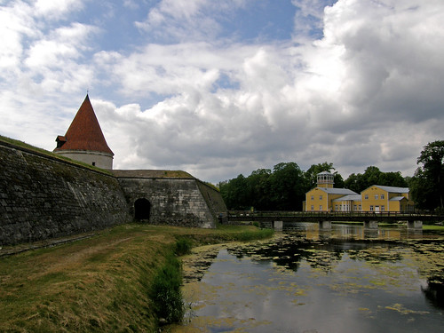 Episcopal castle in Kuressaare, Estonia