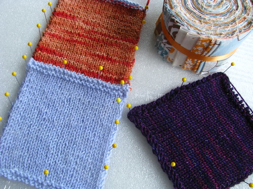 Stargaze Test Knit Swatches