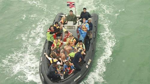 Thailand: Touristen in Unwettern
