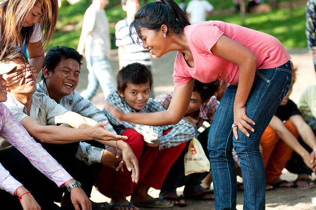 Khmer New Year at Wat Phnom