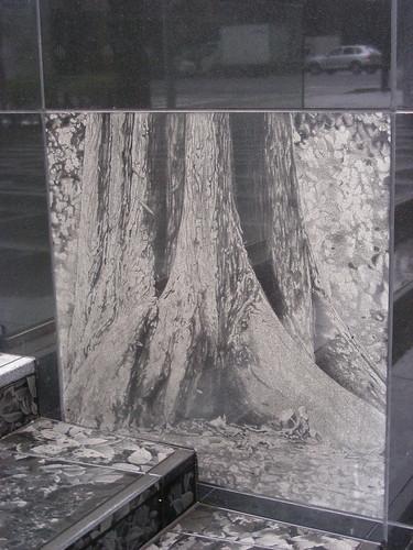 trees on marble