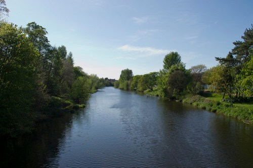 The River Ayr at Craigie