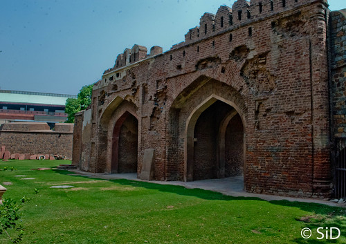 Kashmiri Gate - as viewed from outside the city