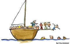 Boat-plank illustration