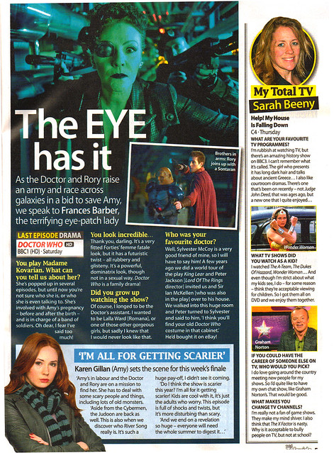 Total TV Guide 4-10 June 2011 Feature
