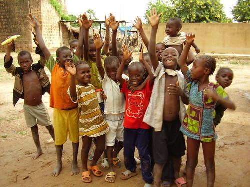 La joie des enfants