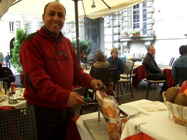 Fresh Prosciutto in Orvieto
