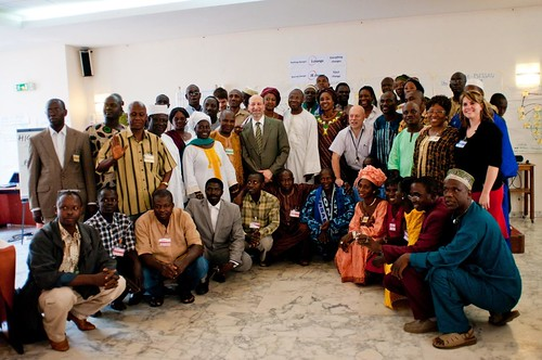 The participants to the Training in ComDev