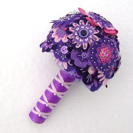 unique bride bouquet 3