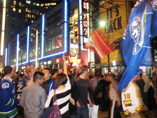 Canucks Fan Excitement Following Game 5 Win in Vancouver