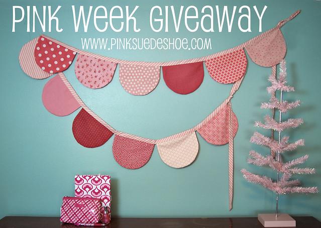 pink week giveaway