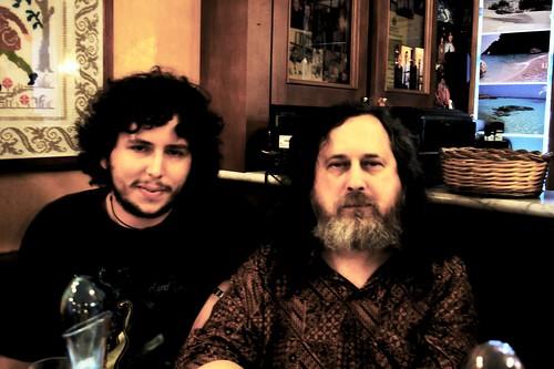 me and Stallman