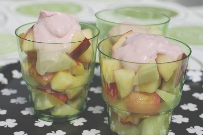 fruitsalad in a cup