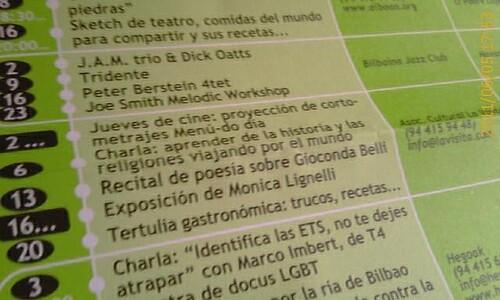 Nota Prensa AGENDA actividades LaVisita en Larruzz by LaVisitaComunicacion