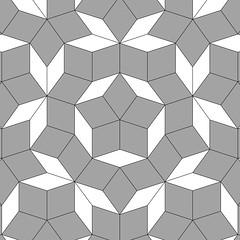 """Penrose star tiling: 25"""""""