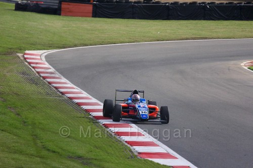 Jamie Caroline in British F4 during the BTCC Brands Hatch Finale Weekend October 2016