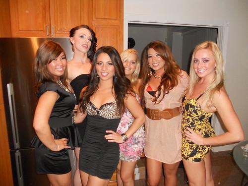 Me, Kryztal, Bianca, Beth, Kim, and Megan