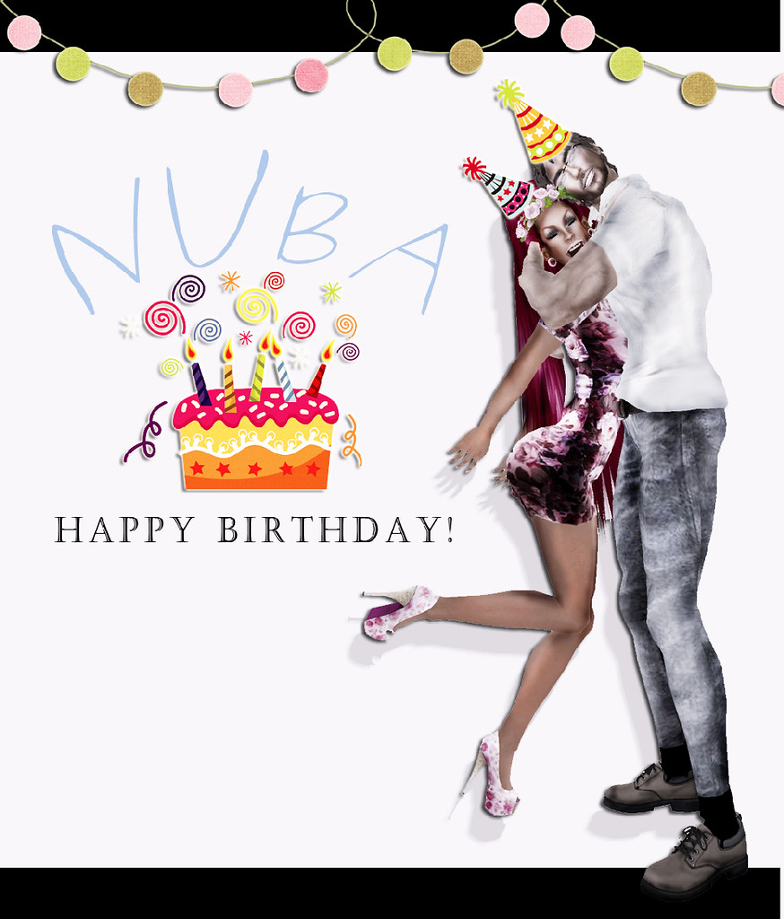 Happy birthday to Nuba!